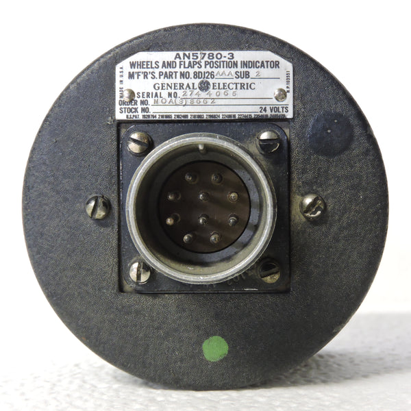 Wheel and Flap Position Indicator, AN5780-3, 8DJ26AAA US Navy