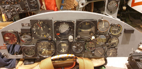 F-104DJ Starfighter Instrument Panel