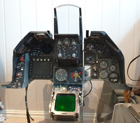 F-16A Block 15 Fighting Falcon Instrument Panel