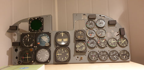 F-5A Freedom Fighter Instrument Panel