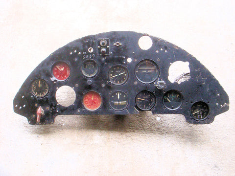 F4U-1 Corsair Instrument Panel NZ5539