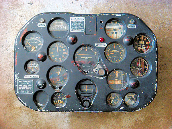 Harvard II Instrument Panel