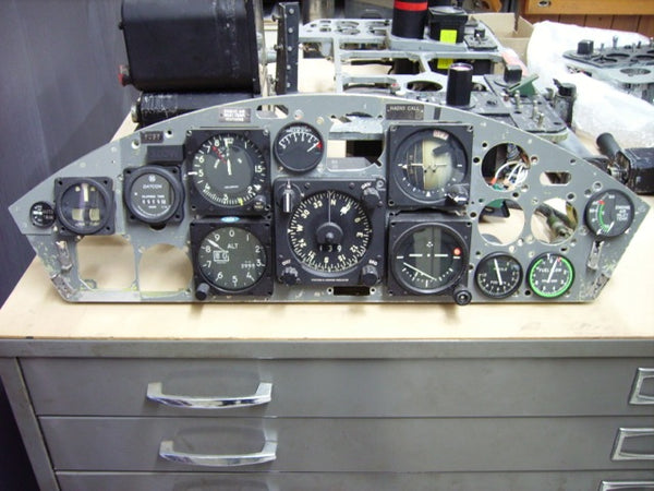 F-104G Starfighter Instrument Panel