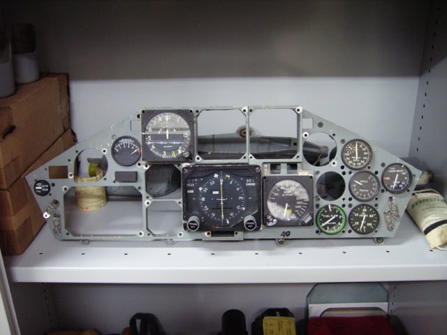 F-104ASM Starfighter Instrument Panel