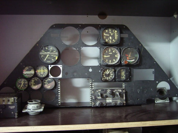 AH-1 Cobra Instrument Panel