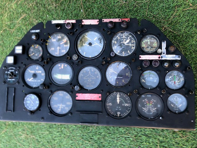 Hispano Aviation H.A. 220 Súper Saeta Instrument Panel