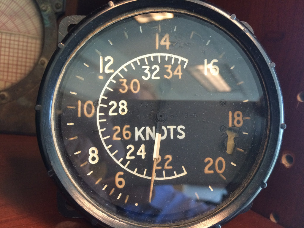 Airspeed Indicator, 350 Knots, British Royal Air Force