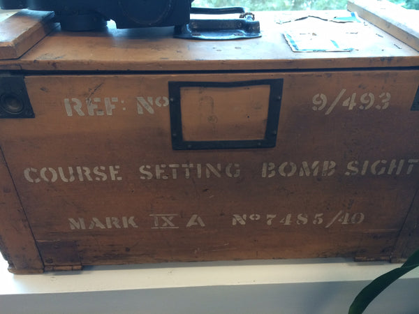 "Bomb Sight, Course Setting, Mk IXA British RAF 1940, ""Wimperis"""