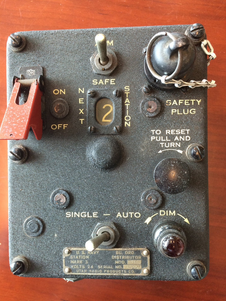 Rocket Firing Distribution Controller Mk 3, US, Navy F4U, TBM