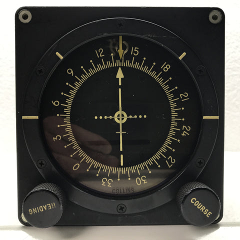 Course Line Indicator, Type 331A-1A; Collins Integrated Flight System FD-101/102