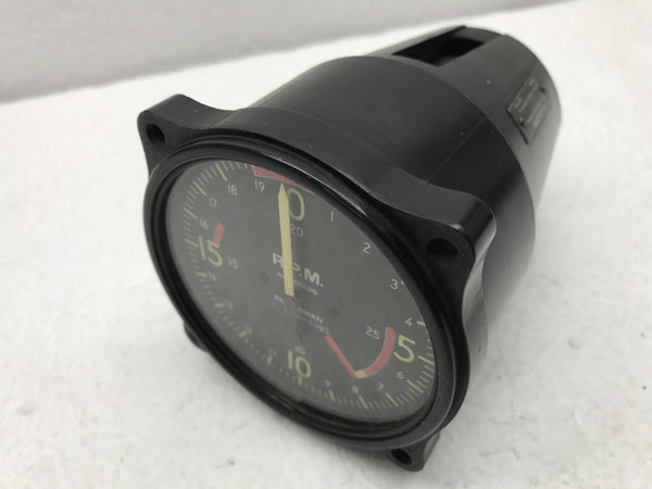 Tachometer, Electric, Kollsman 377 Series 4000 RPM