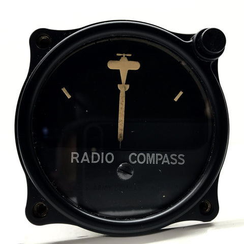 Radio Compass Indicator, I-65-D, of SCR-280-A Radio System, Signal Corps US Army, NOS