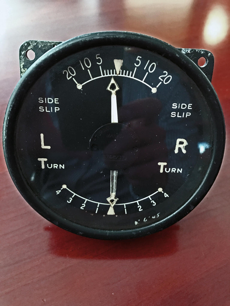 Turn and Slip Indicator, Mk IA, RAF 1937