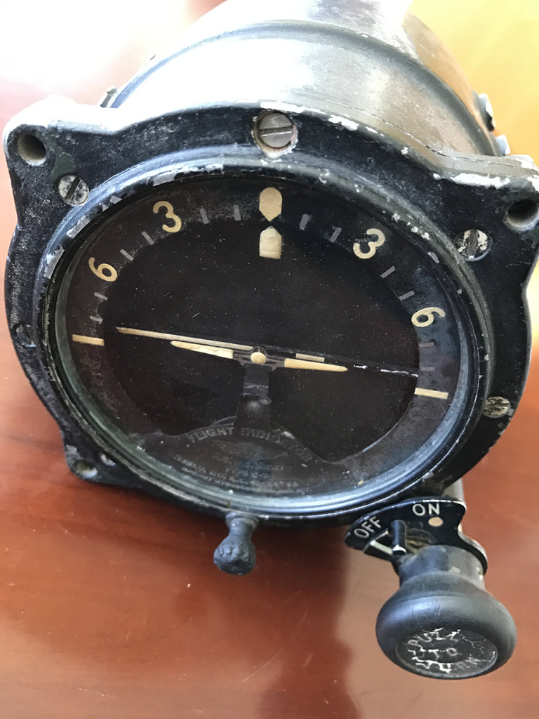 Gyro Horizon Indicator Type C-7 Air Corps US Army WWII