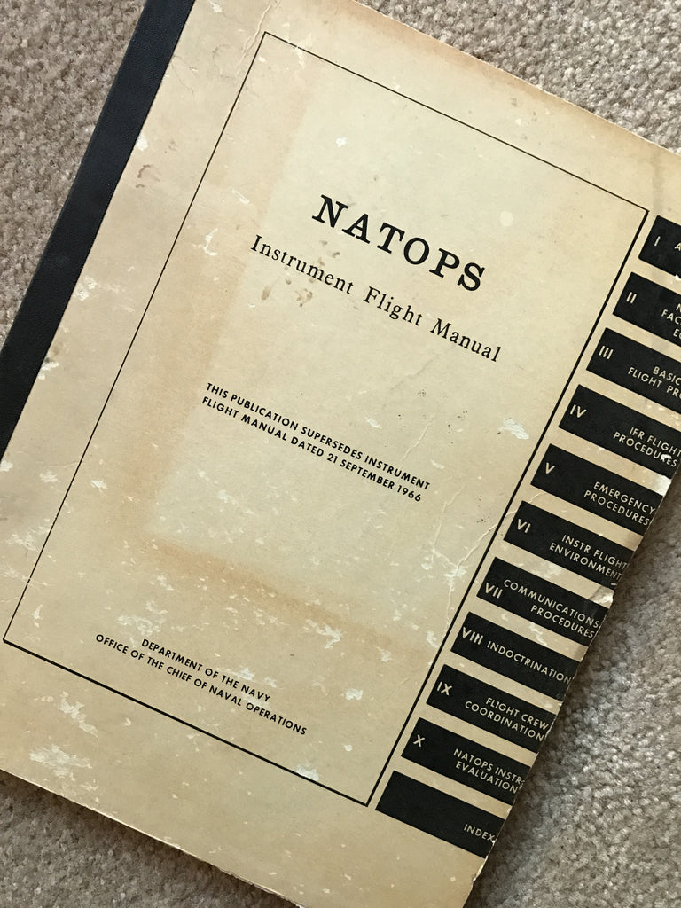 Instrument Flight Manual, US Navy NATOPS 1967