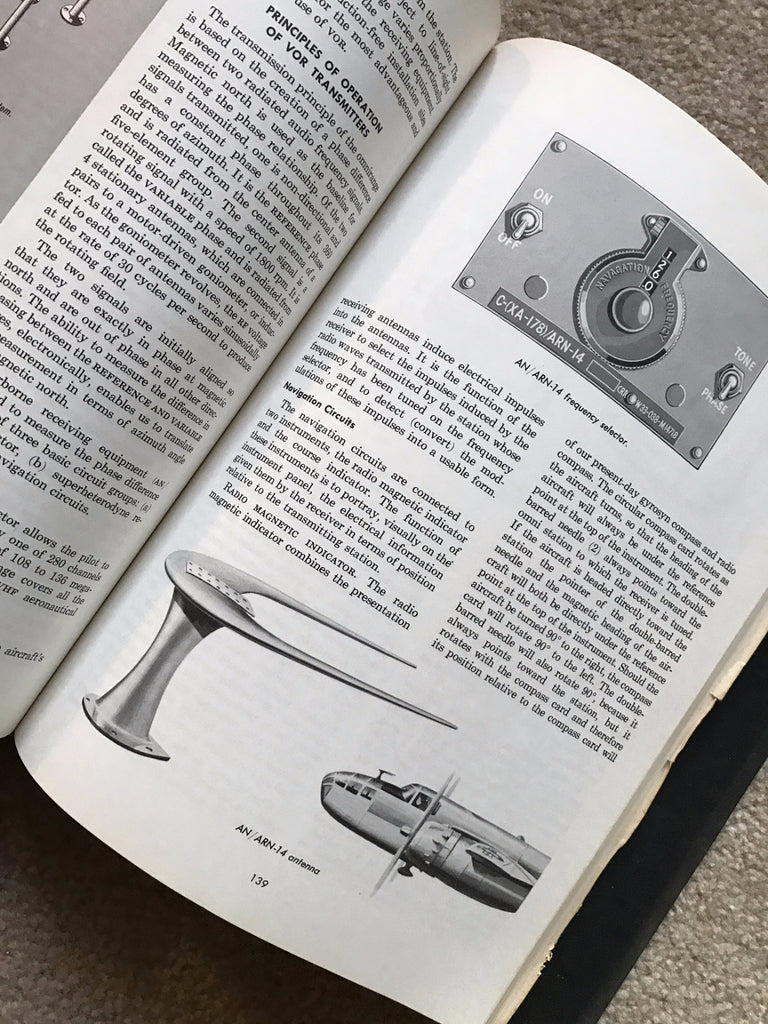 theory of instrument flying us air force 1954 af manual 51 38 rh aeroantique com Air Force Weapons Manuals Air Force Bases