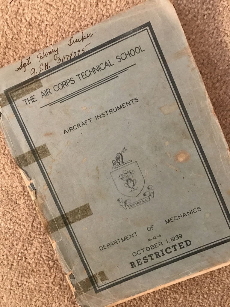 Aircraft Instrument Course 1939: The Air Corps Technical School M-41-4