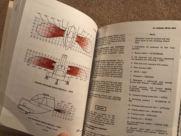 H-46D Sea Knight Helicopter Flight Manual 1990