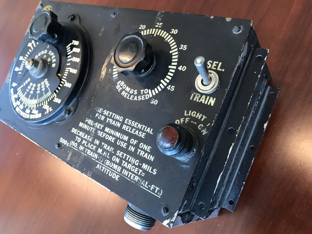 d1e183d50 Bomb Release Control-Intervalometer, Type AN-B3
