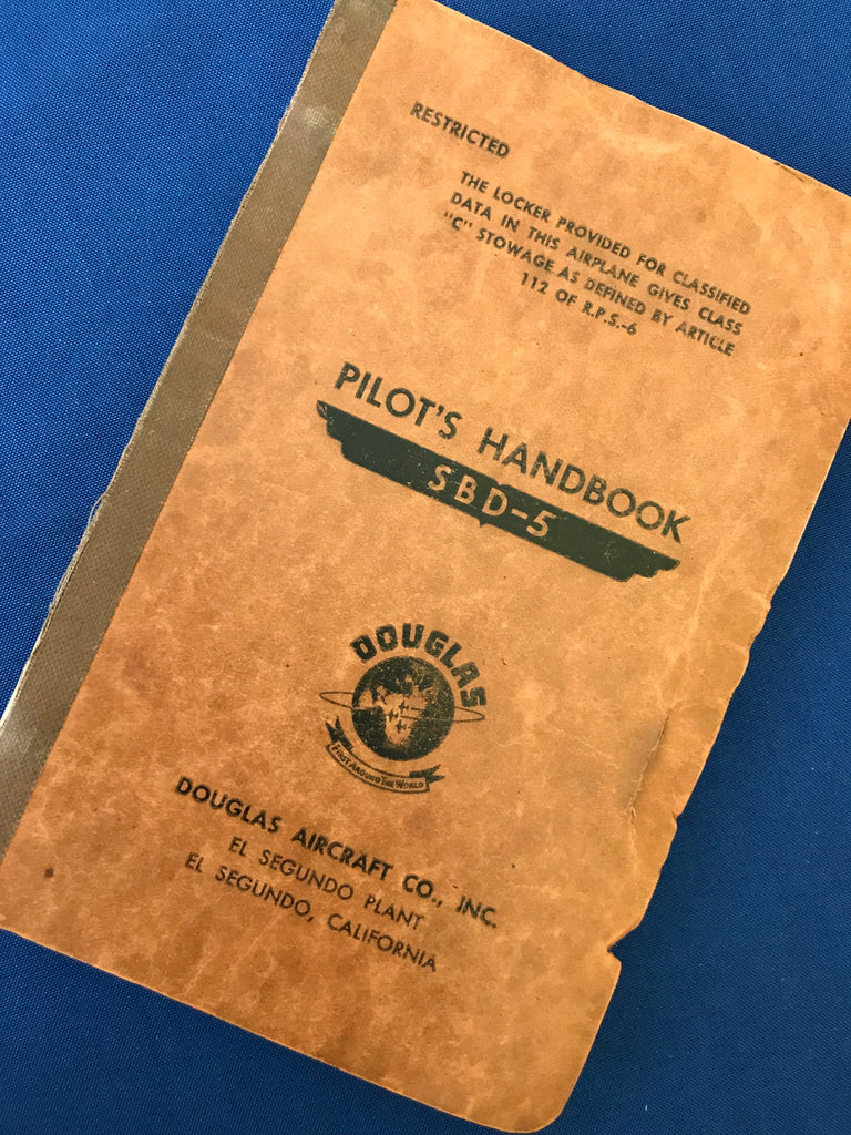 Flight Handbook, SBD-5 Dive Bomber, US Navy 1943