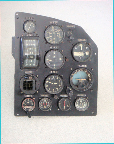 Mitsubishi Ki.57 Transport Aircraft Instrument Panels