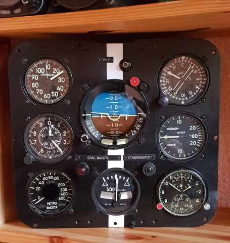L-29 Delfin Instrument Panel