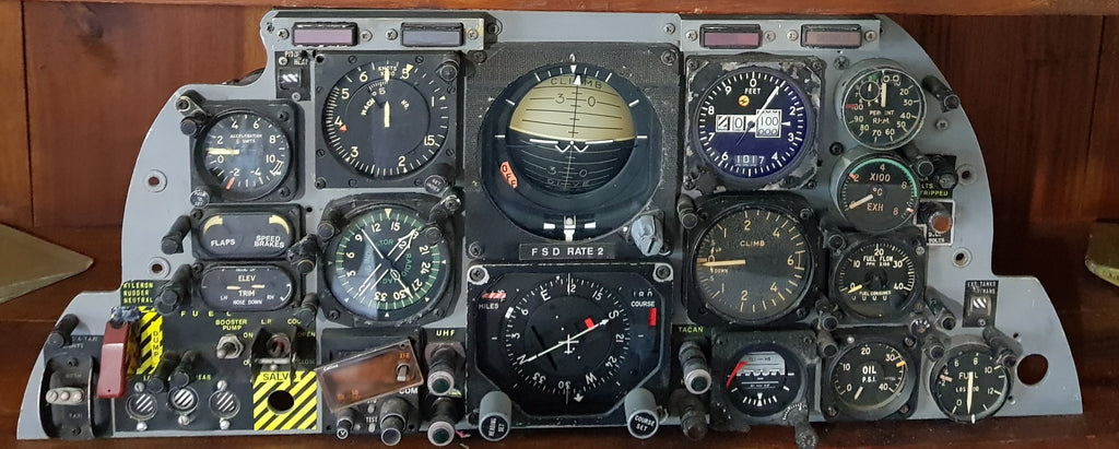 Aermacchi MB 326 Instrument Panel