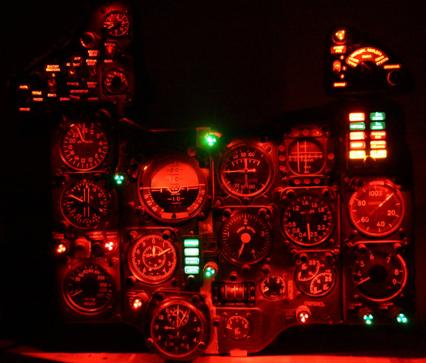 MiG-21 Fighter Instrument Panel