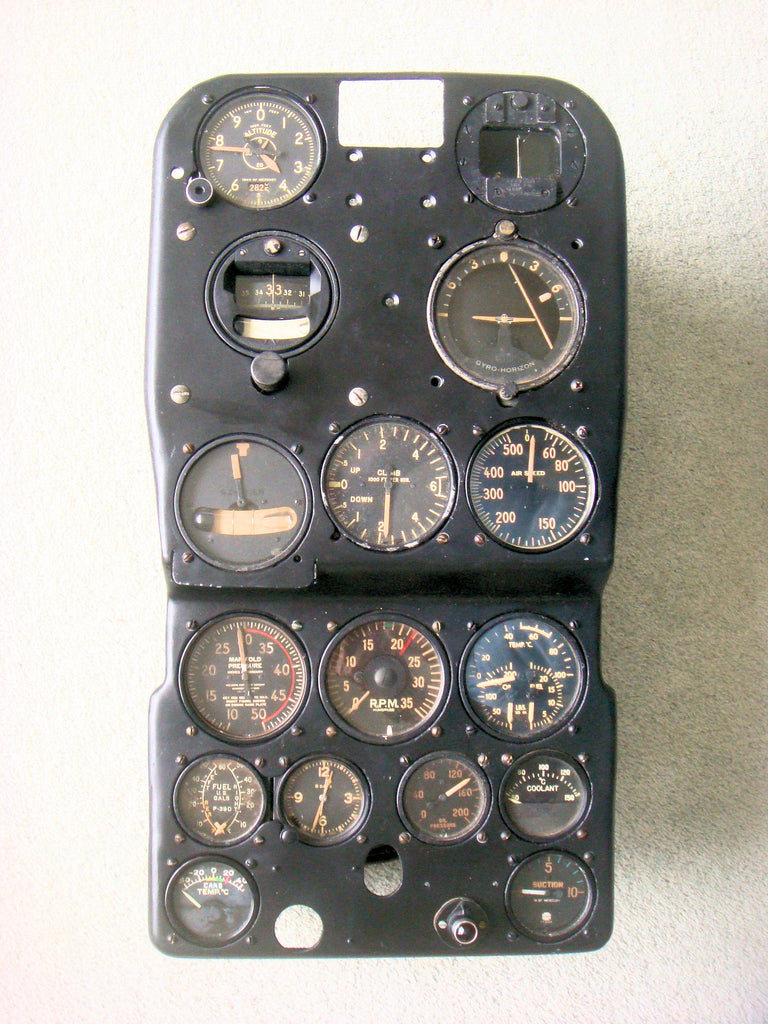 P-400 (P-39) Airacobra Instrument Panel AP-347