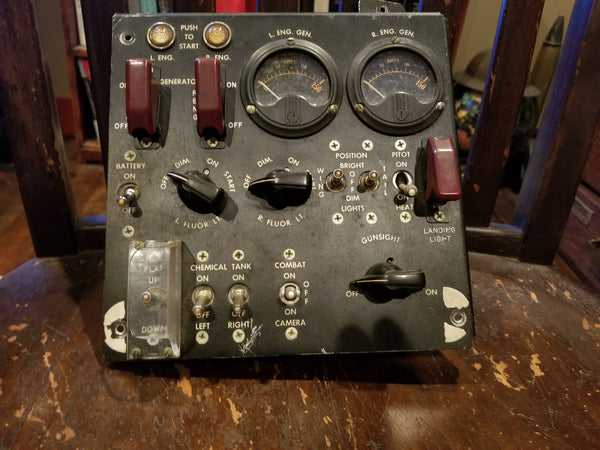 Bell P-59 Airacomet Ignition Control Panel