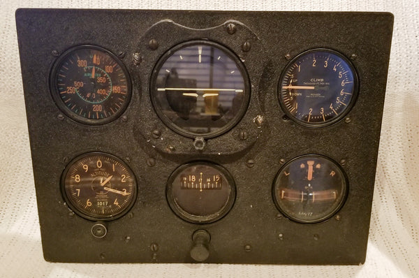 Hawker Hurricane Blind Flying Panel RCAF