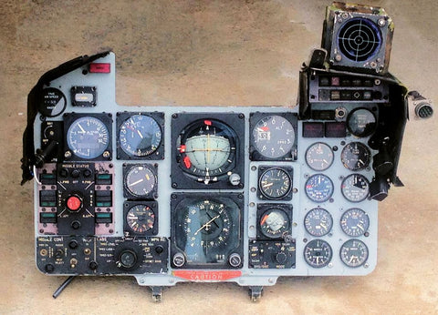 F-4E(S) Phantom Instrument Panel