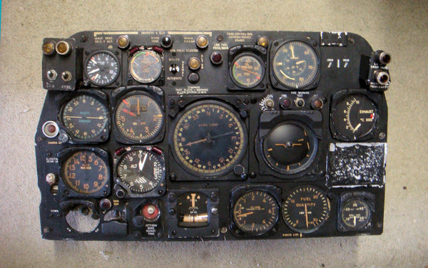 Sabre 6 Fighter Instrument Panel RCAF #23717