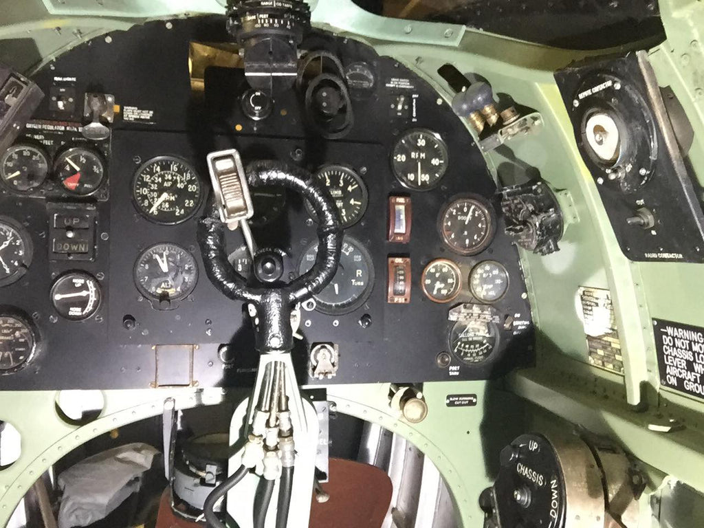 Spitfire Mk5 Instrument Panel and Column