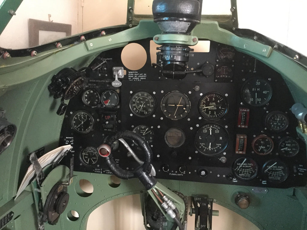 Spitfire Mk1 Instrument Panel and Column