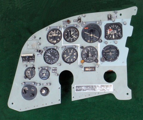 Victor K.2 Bomber, Tanker Version, Instrument Panel