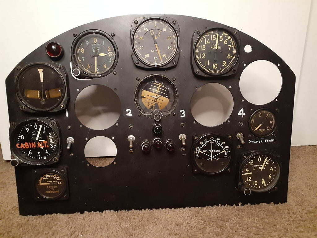 Bell X-1 Instrument Panel