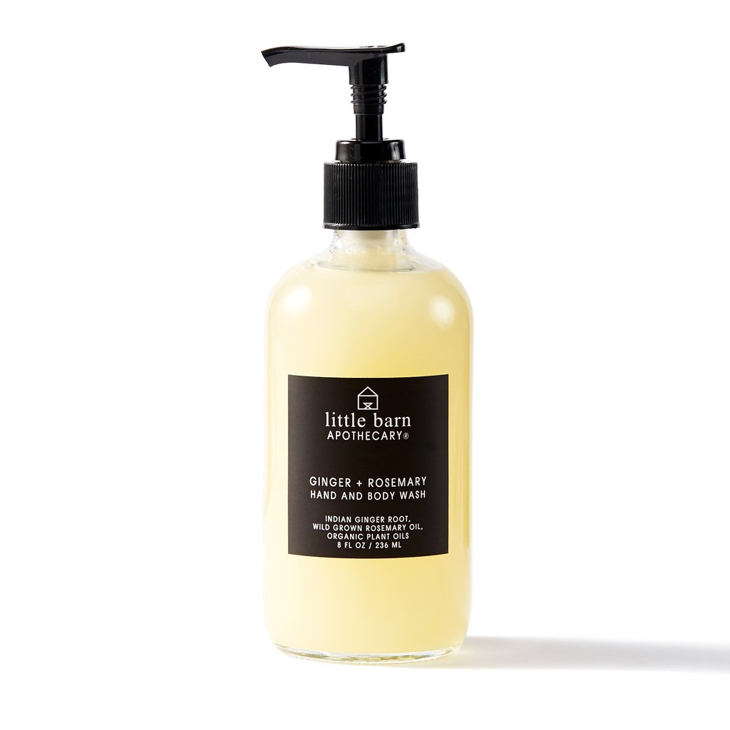 Ginger + Rosemary Hand and Body Wash