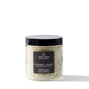 Peppermint + Sea Salt Bath Soak