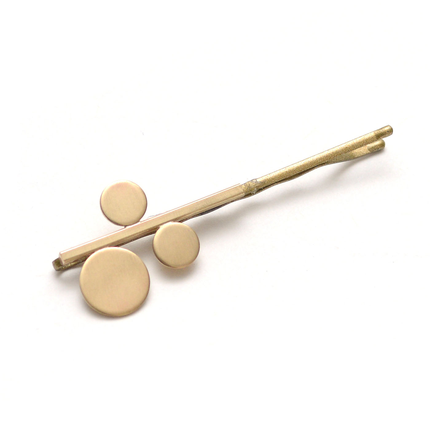 Modern Brass Nomad Bobbies Hair Pin