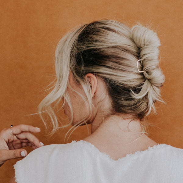 Simple Brass Tuck Hair Pin