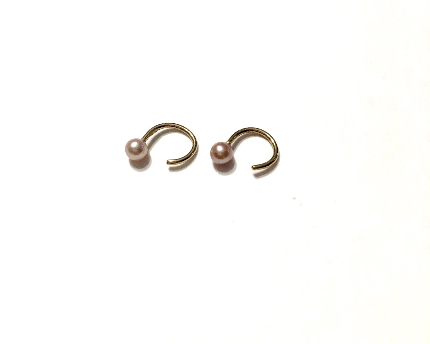 Mini Pearl Ear Cuffs