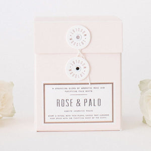Rose + Palo Candle