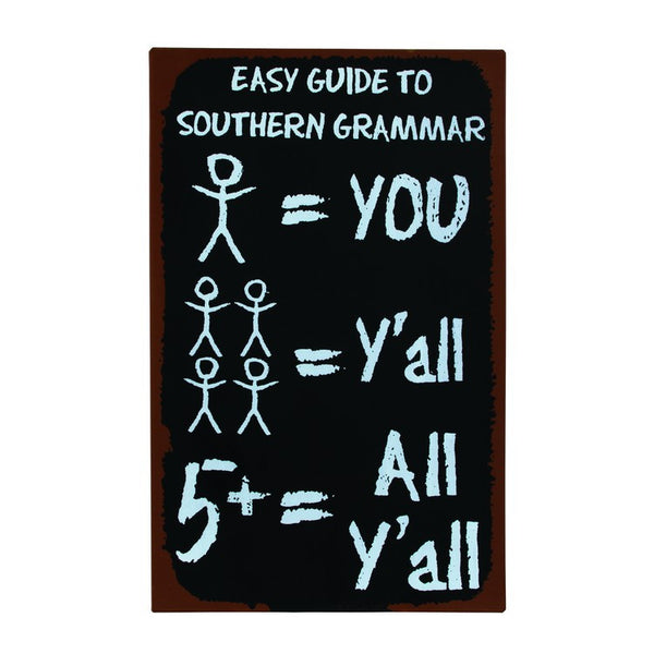SOUTHERN GRAMMAR SIGN