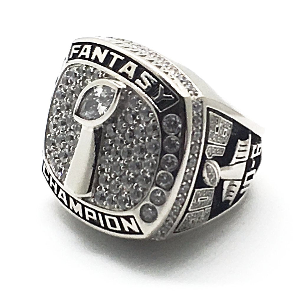 Rookie Championship Ring - Custom Fantasy Football Championship Rings