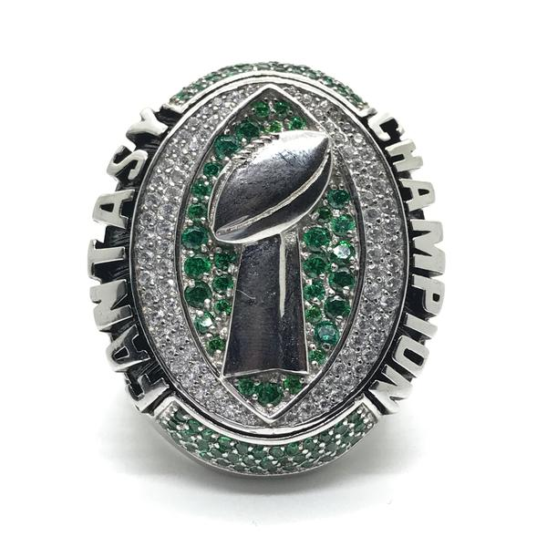 *New Style* Hall of Fame Championship Ring - Custom Fantasy Football Championship Rings