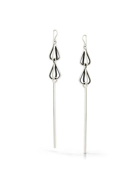 ES16 - Double Mini Drop Bar Earrings