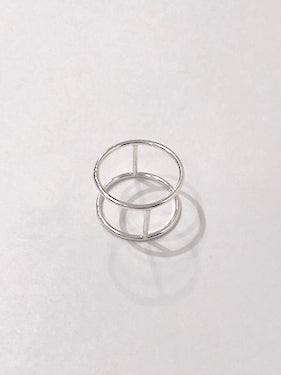 Copy of Hannah Naomi - Sterling Silver Cage Ring