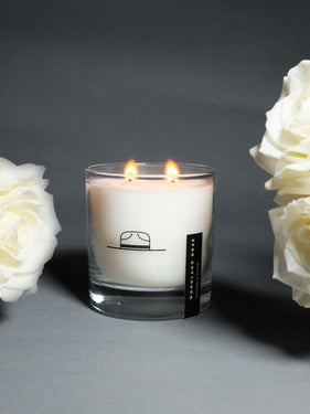 Woodland Rose Candle