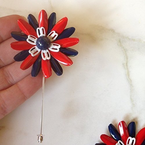 Red White and Blue Lapel Pin